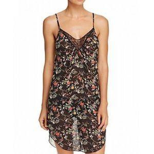NWT Sam Edelman Floral Chemise Slip Dress